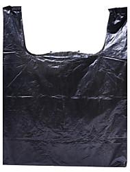 черный пластик супермаркет сумки упаковка подарочные пакеты мешки для мусора оптовой пользовательских поддерживают коробку пяти пакетов