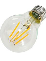 4 E26/E27 Ampoules à Filament LED B 4 COB 640-800 lm Blanc Chaud Décorative AC 85-265 V 1 pièce
