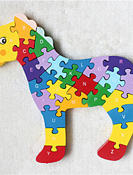 Обучающие игрушки Для получения подарка Конструкторы Лошадь ABS Все Радужный Игрушки