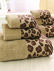 3Pcs Full Cotton Bath Towel Set  Super Soft Strong Water Absorption Capacity Not Dropping Wool