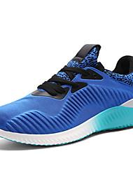 Men's Sneakers Spring / Summer / Fall / Winter Comfort PU Outdoor /Casual Flat HeelBlack / Blue / Gray Sneaker