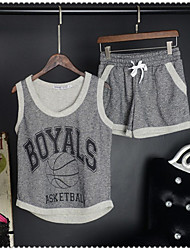 Women's Casual/Daily / Sports Simple / Active Summer Set
