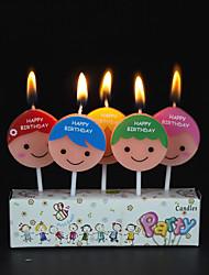 Cartoon English Boy Creative Lovely Birthday Cake Candle Wholesale Party Decoration Decoration Products