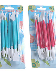 Super Light Clay Tool 8 Suit Clay Eight Piece Tool Clay Mud Diy Mold Accessories Wholesale