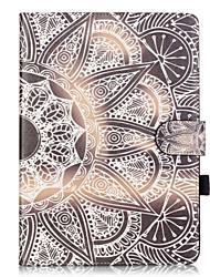 Для Бумажник для карт / со стендом / С узором Кейс для Чехол Кейс для Other Мягкий Искусственная кожа Apple iPad Air 2