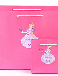 New Paper Bags Original Personalized Valentine'S Day Gift Bag Gift Bags Cb15-37 A Dancing Princess Pack Two