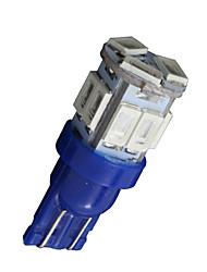 20X T10 W5W 192 168 194 7014 11SMD 5730 11 LED Blue Side lights LED Wedge Light 12V