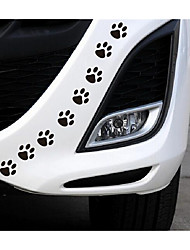 The Puppy Sticker Footprints Car Decorative Sticker Car Decorative Block Scratch Scratch Stickers Cover Personality
