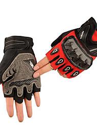Gants moto hors route course demi-doigt le sport équestre casque moto cs gants tactiques en plein air glisseraient