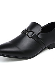 Men's Oxfords Casual/Office & Career/Office & Career Fashion Leatherette Slip-ons Shoes