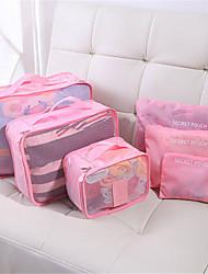 Travel Storage Bag Waterproof Clothing, Underwear Packing Bag, Suit Suitcase, Six Piece Suit
