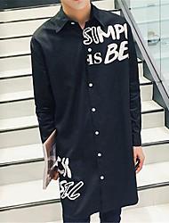 DMI™ Men's Lapel Letter Casual Shirt(More Colors)