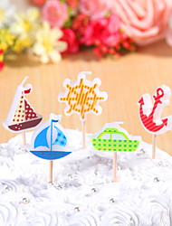 Party Decoration Birthday Candles Set (5 Pieces) Cartoon Small Candles