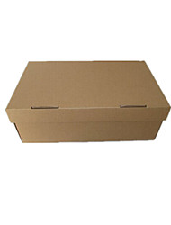 colore marrone altri imballaggi di materiale& il trasporto 330 * 280 * 125 cartoni di imballaggio un pacchetto di tre