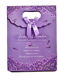New Exquisite Lavender Bag Beautiful Clamshell Favor Bags Gift Bags Gift Bags Gluing A Pack Of Five