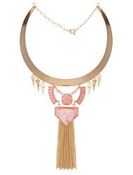 Colliers Tendance Pendentif de collier Bijoux Soirée Gland Alliage Doré 1pc Cadeau