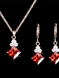 Schmuck Halsketten / Ohrringe Halskette / Ohrringe / Braut-Schmuck-Sets / Set Modisch / Vintage / EinstellbarHochzeit / Party / Alltag /