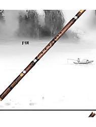 tres flauta de bambú negro