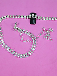 30Cm Silver Mini Shiny Rhinestones Chain Nail Studs Charming 3D Nail Art Chains Nail Charms  Nail Decoration