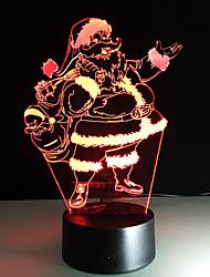1pc tactile 3 d conduit coloré lampe vision changement de lampe atmosphère cadeau de bureau couleur lumière de nuit