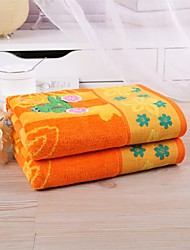 "1 PC Full Cotton Hand Towel 19"" by 35"" Strong Water Absorption Capacity Super Soft Cartoon Pattern"