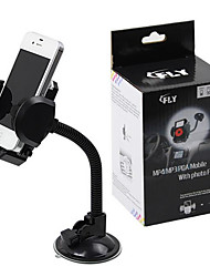 Car GPS Navigation Car Phone Holder Bracket 360 ° Telescopic Adjustment With Transparent Big Sucker
