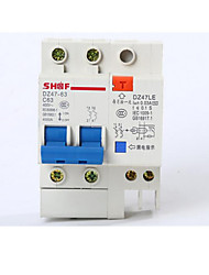 Small Leakage Protector(Breaker Rated Current: 63A,Rated Operating Voltage: 220 (V))