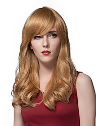 Glamorous  Long Wavy Human Hair Wigs For Women