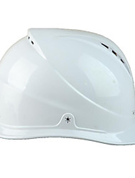 White Material Pe Abs Anti-Smashing Site Safety Helmets