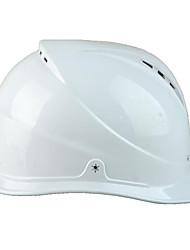 matériau blanc pe abs casques de sécurité du site anti-Smashing