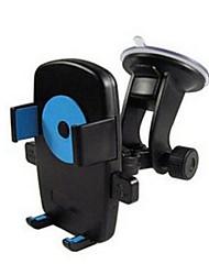 verrouillage automatique pour véhicule monté téléphone mobile, aide à la navigation, des ventouses, 360 rotation