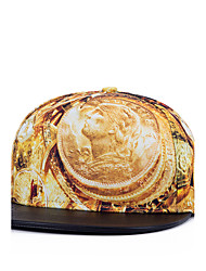 Hip Hop Women Men Street Dance American Dollar Coins Print Adjustable Patchwork 3D Baseball Cap