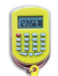(Random color)1PC  Students Calculator Portable Can Be Used  Buckle