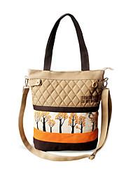 Flower Princess® Women Canvas Shoulder Bag Orange-D120138DF