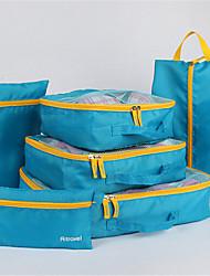 Travel Bag Set Of Six Korean Multi-Function Shoe Bag Bag Bag Finishing Clothes