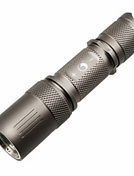 U`King® LED Flashlights/Torch LED 1200m Lumens 5 Mode - Cree XM-L2 18650 Dimmable Compact Size High Power Camping/Hiking/CavingAluminum