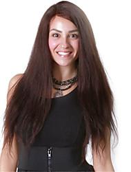 "10""-26"" Mongolian Virgin Hair Natural Black Silky Straight Full Lace Wig No Shedding Tangle Free Human Hair Wigs"