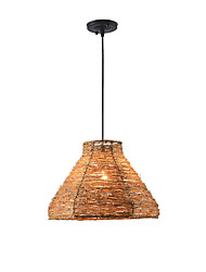 60W Chandelier ,  Country Others Feature for Designers Wood/BambooLiving Room / Bedroom / Dining Room / Kitchen /