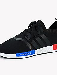 Chaussures Hommes-Décontracté-Noir / Bleu / Rouge-Tulle-Sneakers