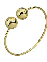 Double Metal Ball Thin Bracelets Bangles