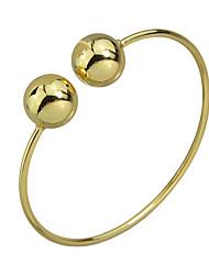 Pulseiras Pulseiras Algema Liga Formato Circular Fashion / Estilo Pesta / Diário Jóias Dom Dourado / Bronze,1pç