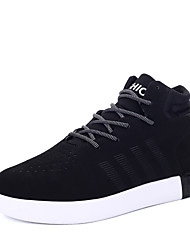Running Shoes Men's Fashion Shoes Casual/Travel/Party & Evening Fashion Microfiber Leather Sport Walking Medium cut Youth Shoes