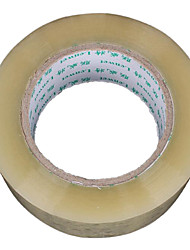 Transparent Color Plastic Material Packaging & Shipping Tape A Pack of Two