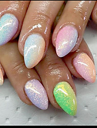 1PC  Nail Art beauty  Fish Meal Golden Onion Iridescence Glitter 10g Bags Five Color Optional