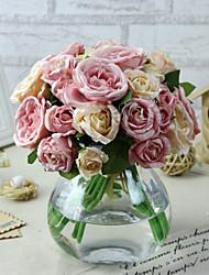 Hi-Q 1Pc Decorative Flower Lotus Wedding Home Table Decoration Artificial Flowers