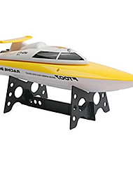 Speedboat FEILUN FT007 Racing RC Boat Brushless Electric 4 2.4G Red Yellow
