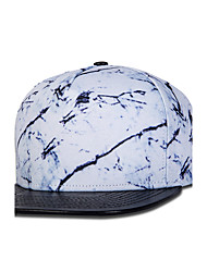 New Street Dance Fashion Men Women Marble Pattern Print Hip Hop Baseball Caps