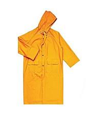 407 005 сиамские дождевик пончо спецодежду ПВХ покрытием полиэстер (продается ja- желтый, XL)