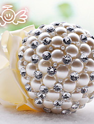 Wedding Flowers Round Roses Bouquets Wedding Bead