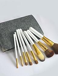 8Pcs Makeup Brush Set High-Grade Horsehair Eye Shadow Brush Beauty Makeup Tools Random Colors